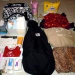 Asa arata bagajul bebelui pentru o iesire de weekend