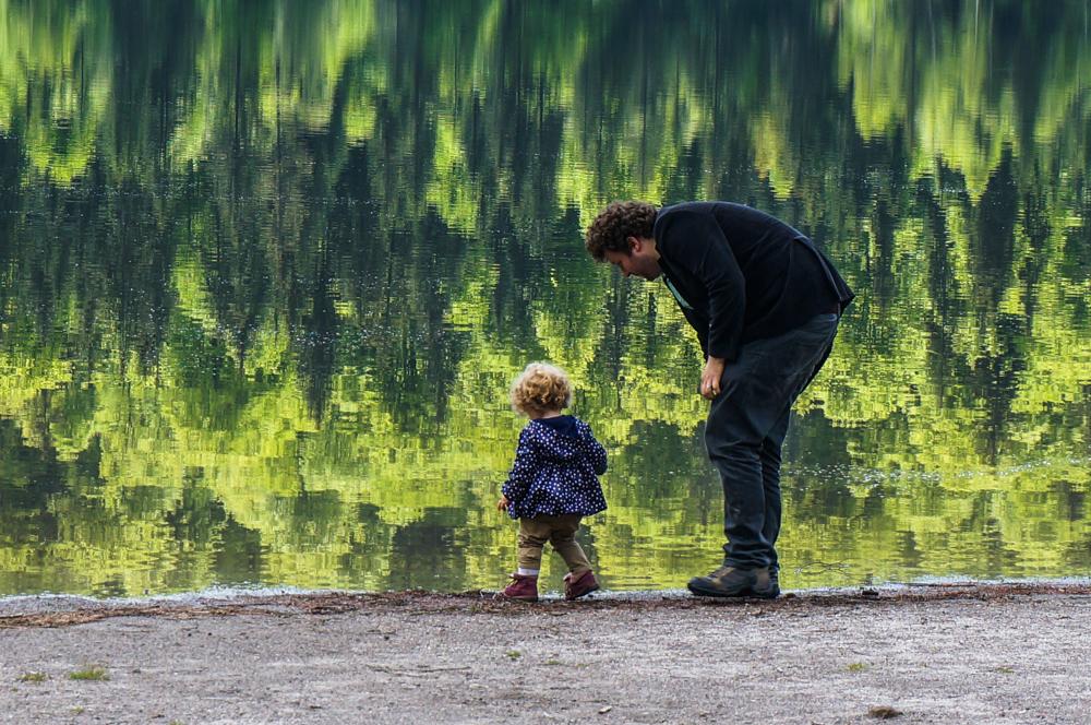 [FOTO] Bebe calator ♥ Romania – <b>Lacul Sfanta Ana</b>