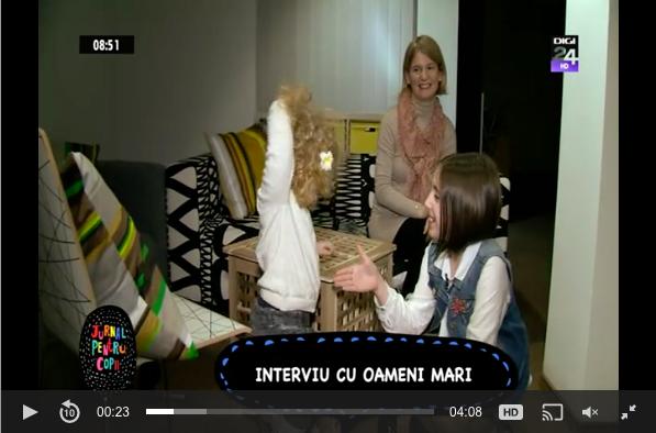 Ana a povestit, <b>la Digi TV, despre calatoriile</b> de pana acum