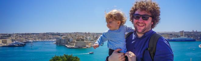 [VIDEO] Malta prin ochi de bebe calator