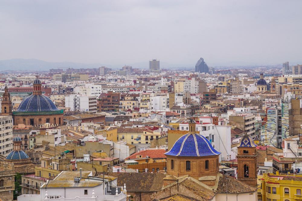 Valencia Miguelete panorama