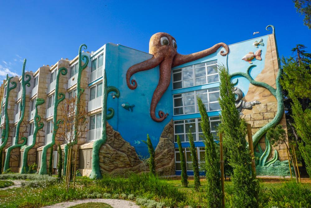 <b>Solaris Kids Hotel Andrija</b> &#8211; un hotel croat relaxat, gandit pentru familii