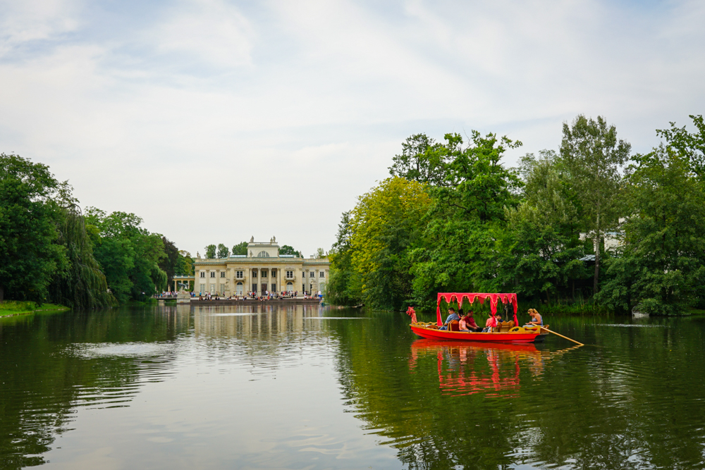 Lazienki barca varsovia cu copiii-1