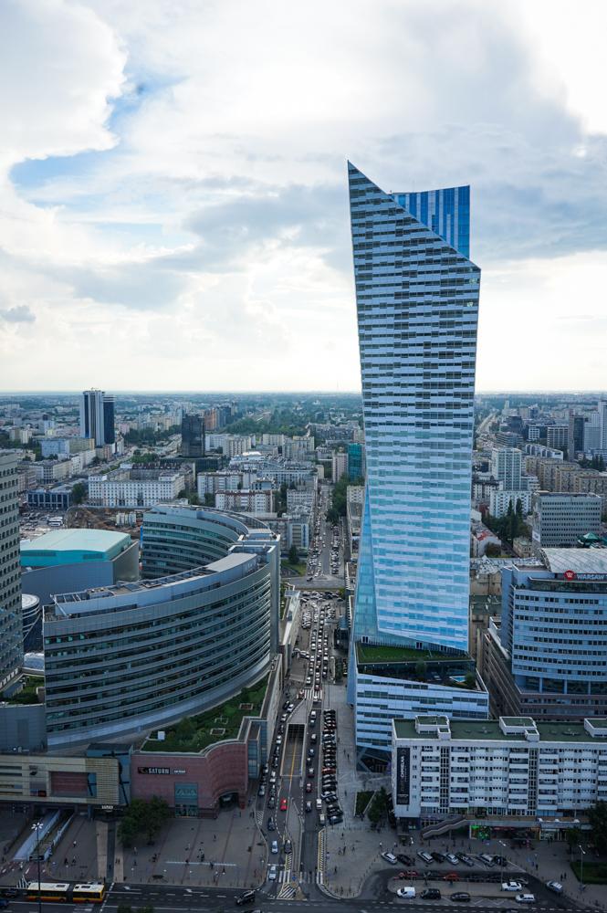panorama palatul culturii varsovia 1