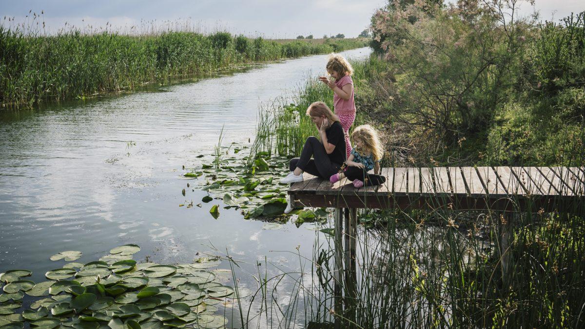 Cum a fost cu copiii la <b>Pensiunea Doi Capitani</b> din Delta Dunarii
